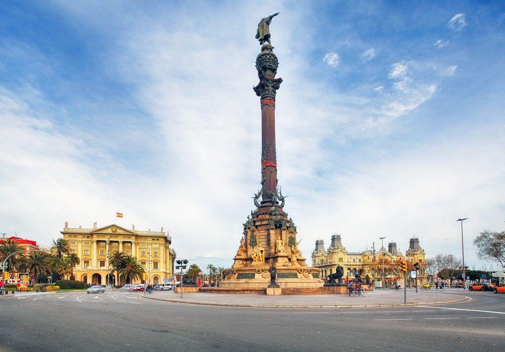 バルセロナのシンボル・コロンブ...