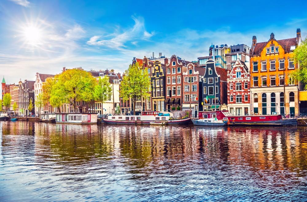 水の都アムステルダム